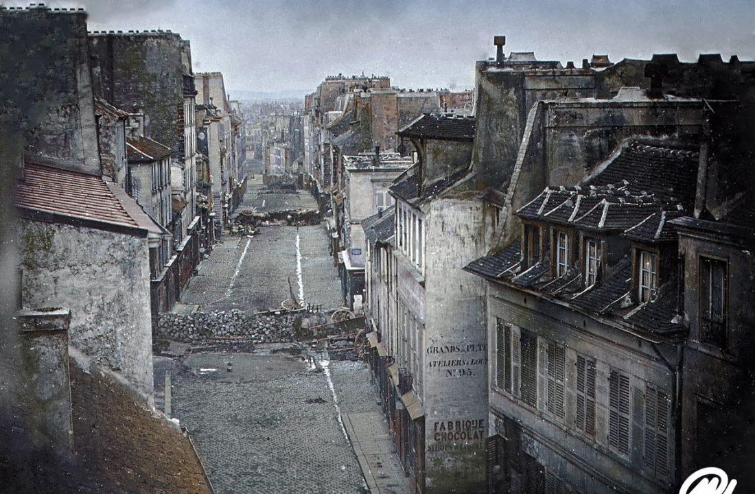 June Days Uprising, Paris, 1848