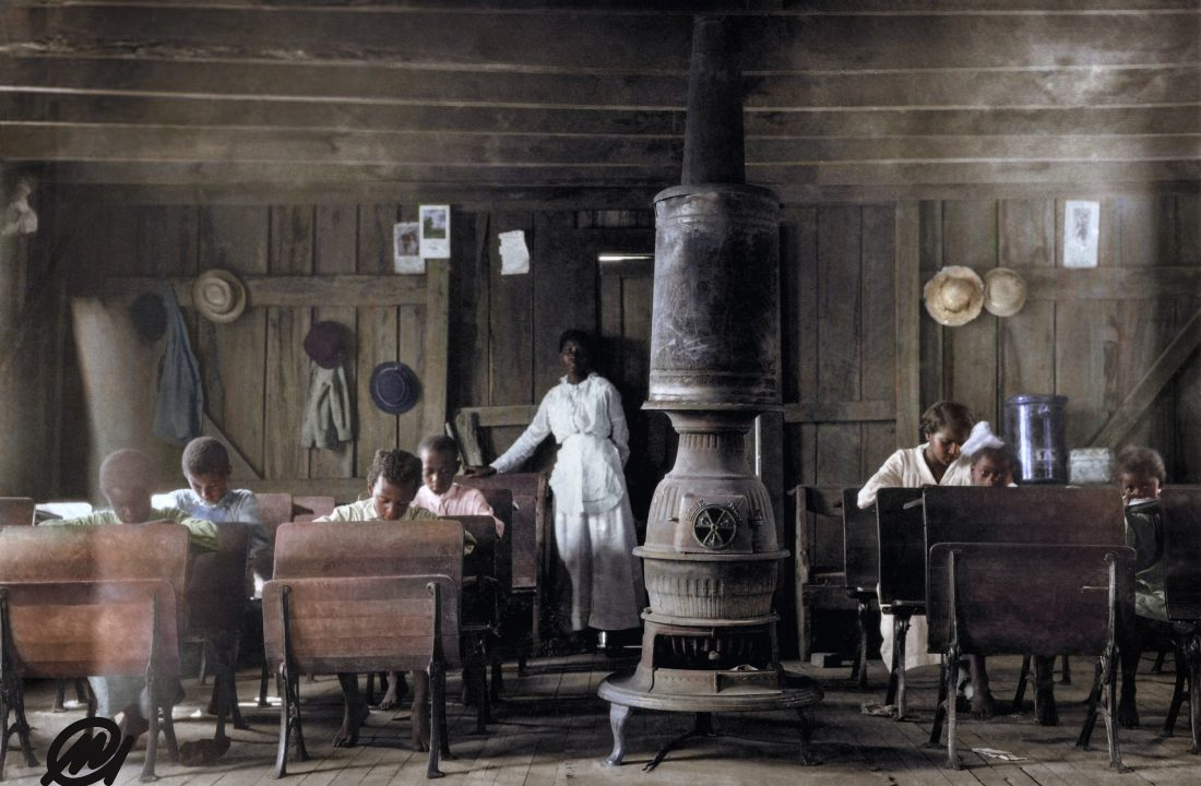 School At Anthoston, Kentucky. By Lewis Hine, 1916