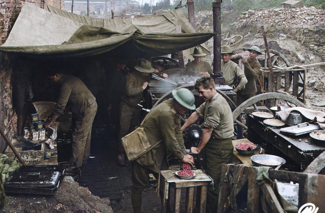 Cooks of the 2nd Australian Battalion, Ypres
