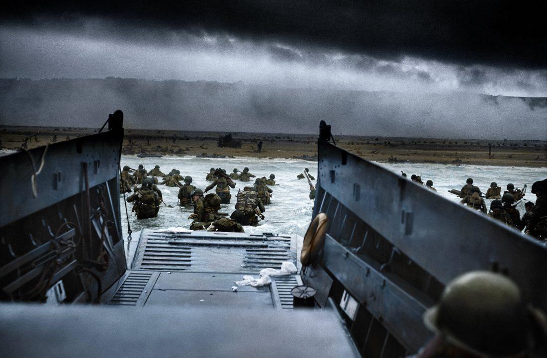 Omaha Beach landing, 6 June 1944