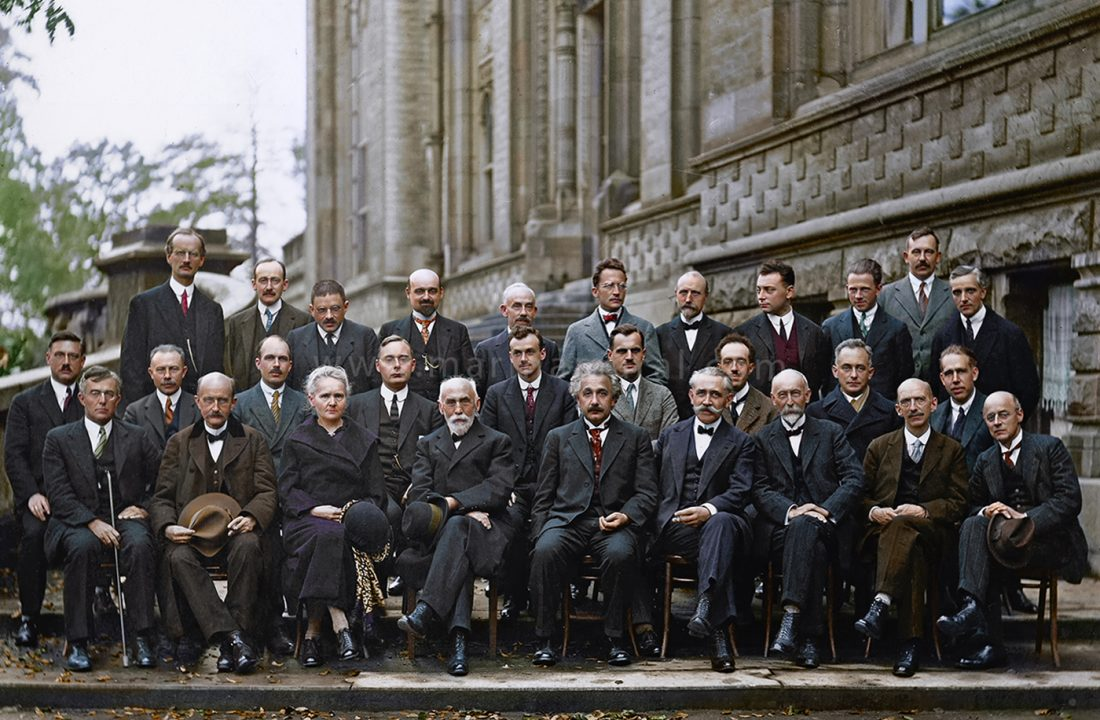 5th Solvay Conference on Quantum Mechanics, 1927 - Marina Amaral